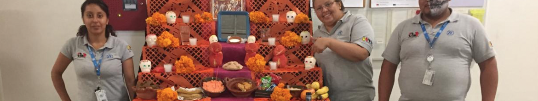 Concurso de altares de muertos en la empresa ZF