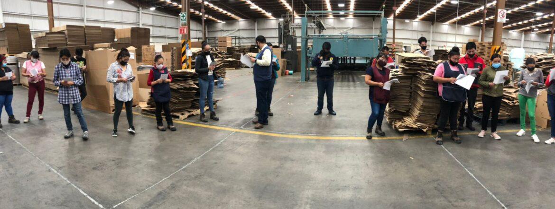 Visita a empresa Empaques Río Grande
