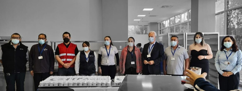 Inauguración de Comedor en ITP Aero