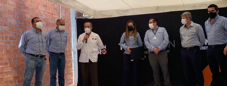 Celebran 730 días sin accidentes en TMD Friction
