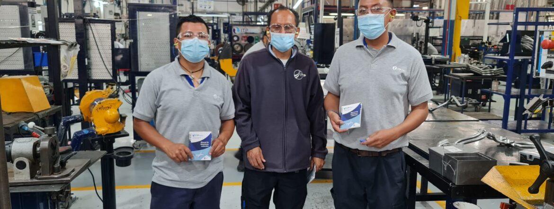 Entrega de CCT a sindicalizados en ITP Aero